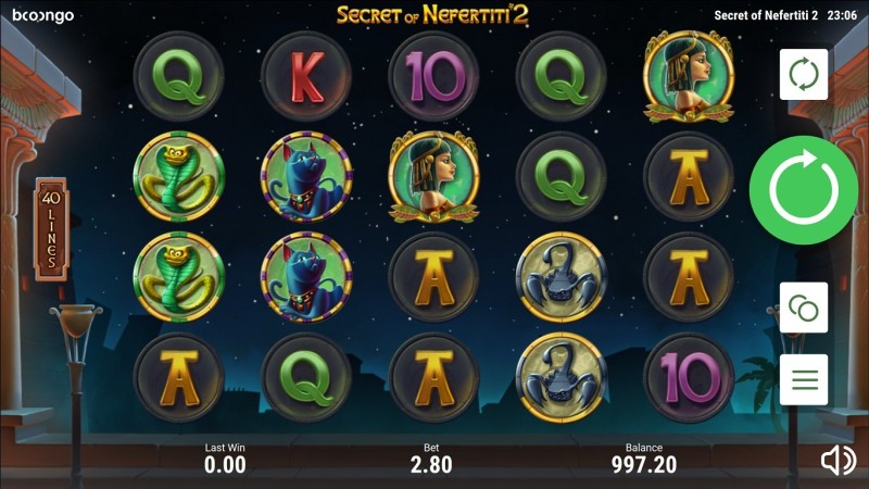 Игровой автомат «Secret of Nefertiti 2» казино Вулкан 24